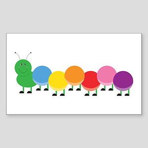 Bright Caterpillar Sticker