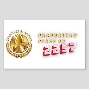 Star Trek - Starfleet Academy Graduate 225 Sticker