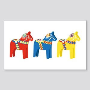 Dala Horse Border Sticker