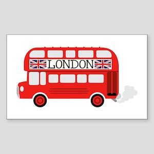 London Double Decker Sticker