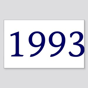 1993 Rectangle Sticker