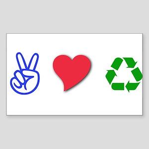 Environment Rectangle Sticker