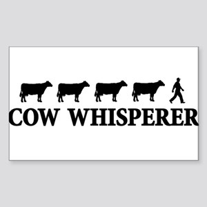 cowwhisperer copy Sticker