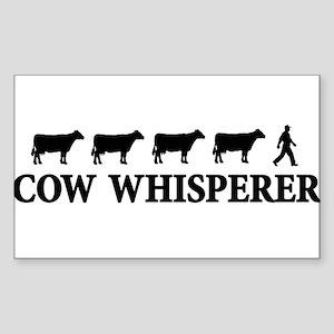 cowwhisperer copy Sticker