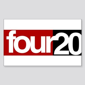 four20 Sticker (Rectangle)