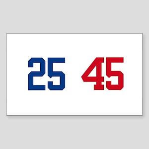 25th Amendment Trump Sticker (Rectangle)