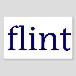 Flint Rectangle Sticker