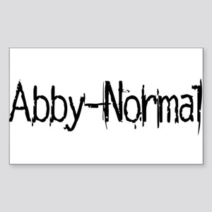 Abby Normal 2 Sticker (Rectangle)