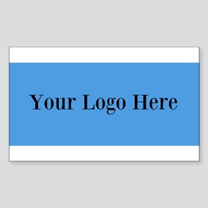 Your Logo Here (Wide) Sticker