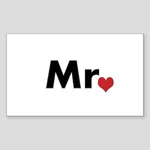 Mr Sticker (Rectangle)