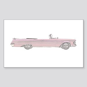 Chrysler New Imperial Crown Sticker (Rectangle)