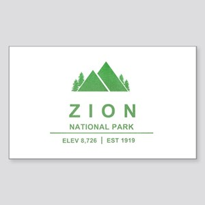 Zion National Park, Utah Sticker