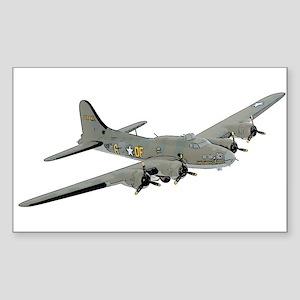 B-17 Sticker (Rectangle)