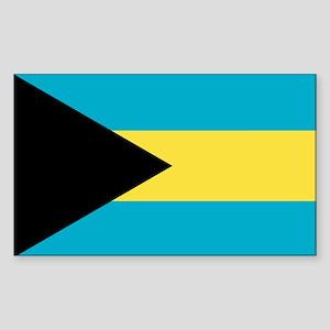 Flag of the Bahamas Sticker (Rectangle)