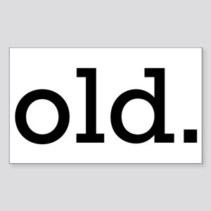 Old Rectangle Sticker