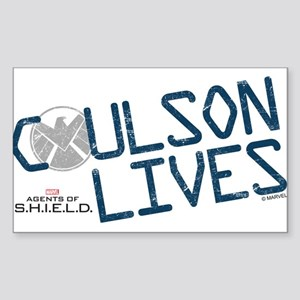 Coulson Lives Sticker (Rectangle)