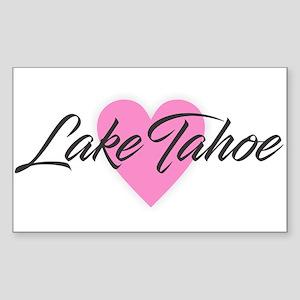 I Heart Lake Tahoe Sticker