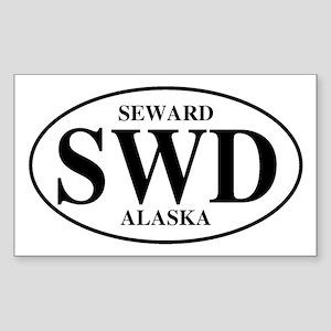 Seward Rectangle Sticker