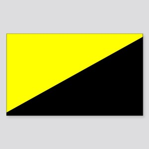 Anarcho-Capitalist Flag Rectangle Sticker