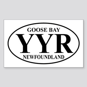 Goose Bay Rectangle Sticker