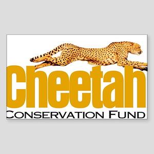 Cheetah Conservation Fund Sticker