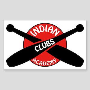 Indian Clubs Academy LG Sticker