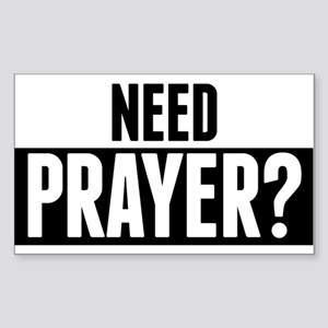 Need Prayer Sticker