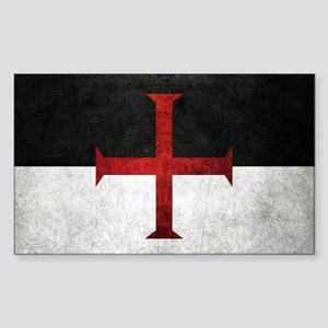 Flag of the Knights Templar Sticker
