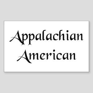 Appalachian American Sticker (Rectangle)