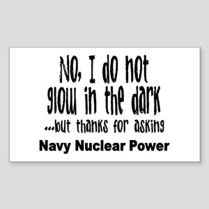 Navy Nuclear Power Rectangle Sticker