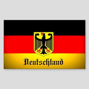 Deutschland Flag Coat of Arms Sticker