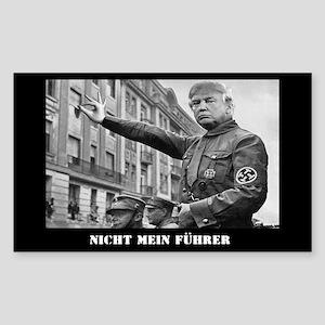 NIcht Mein Fuhrer Sticker (Rectangle)