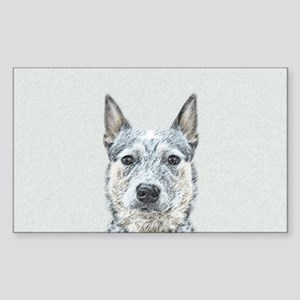 Australian Cattle Dog Sticker (Rectangle)