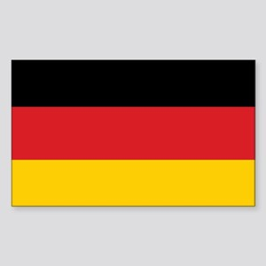 Germany Flag Rectangle Sticker