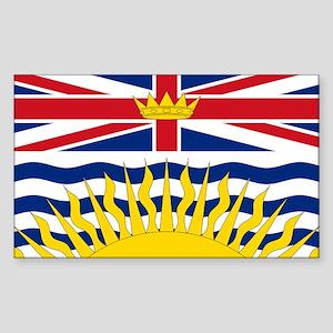 British Columbian Flag Sticker