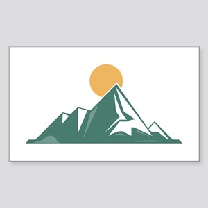 Sunrise Mountain Sticker