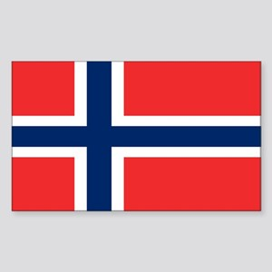 Flag of Norway Sticker (Rectangle)