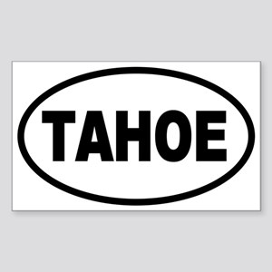 Basic Tahoe Oval Sticker