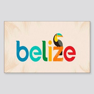 Belize Sticker (Rectangle)