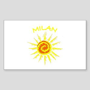 Milan, Italy Rectangle Sticker