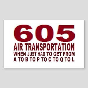 605 air trans Sticker