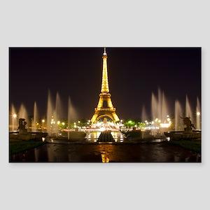 A Night In Paris Sticker