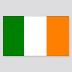 Ireland Flag Rectangle Sticker
