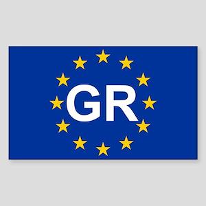EU Greece Sticker