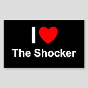 The Shocker Sticker (Rectangle)