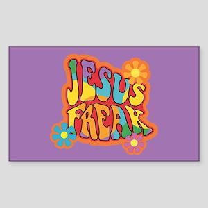 Jesus Freak Rectangle Sticker