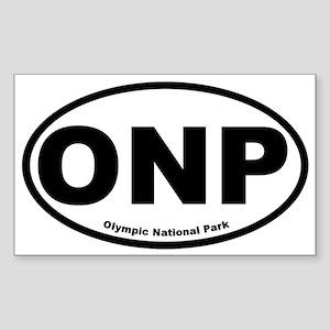 Olympic National Park Oval Sticker