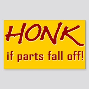 Honk Rectangle Sticker