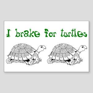 Turtles - Sticker (Rectangle)