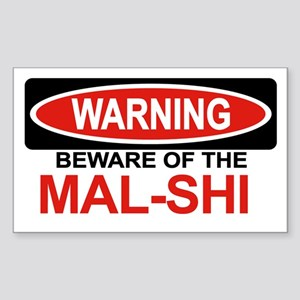 MAL-SHI Rectangle Sticker
